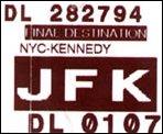 JFK Flughafen in New York