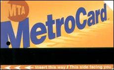 die Metro Card für New York - das beste Verkehrsmittel, USA