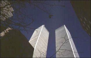 die World Trade Center vor dem 11.09.2001, New York