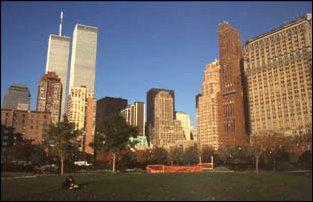 am Battery Park, New York