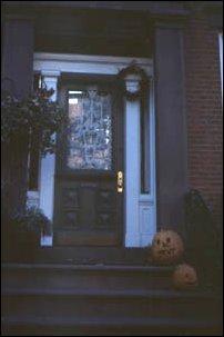 Eingang auf der Brooklyn Heights, Brooklyn, New York