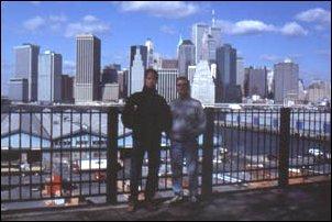 Oli & Achim in New York, USA
