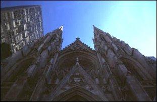 die St. Patricks Cathedral, 5th avenue, Manhanttan