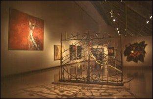 eine moderne Austellung im Metropolitan Museum of Art, New York