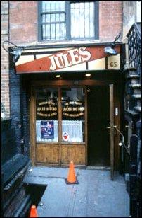 ein Plattenladen in East Village, New York