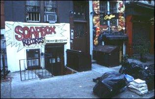 In Greenwich Village in Manhanttan, New York City
