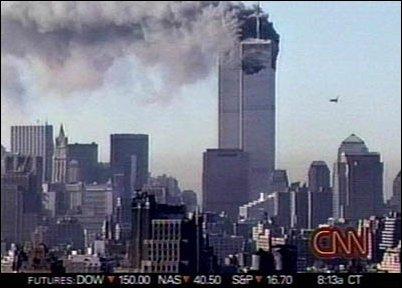 der Tag des Anschlags auf das World Trade Center in New York am 11.09.2001