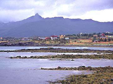 typische Vesterälen-Landschaft, Norwegen