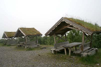 """Rastplatz """"Sortland"""", Vesterälen, Norwegen"""