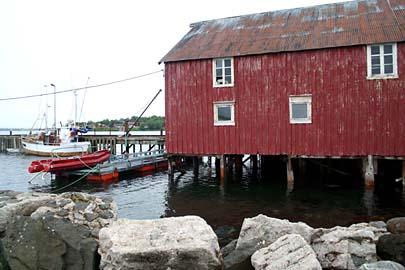 im Ort Risöyhamn, Vesterälen, Norwegen