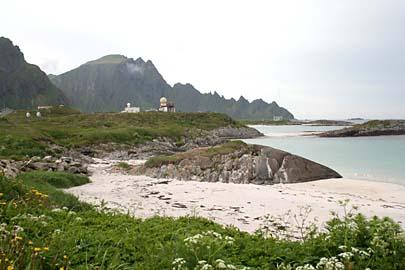 Strand von Andenes auf Andoy,  Vesterälen, Norwegen