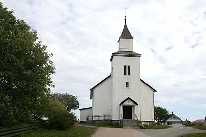 Kirche von Andenes auf Andoy, Vesterälen, Norwegen