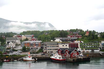 Vesterälen-Landschaft bei Dragnes, Norwegen
