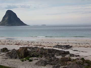 Küste bei Bleik, Vesterälen/Norwegen