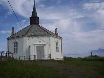 Strandkirche, Vesterälen/Norwegen