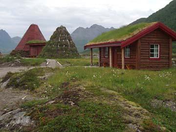 """Friluftsenter""- Museum auf Hinnoya, Vesterälen/Norwegen"