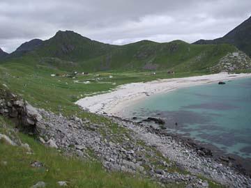 Hauklandstrand, Lofoten/Norwegen