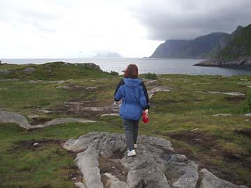 beim Ort: Ä, am Südkap der Lofoten/Norwegen