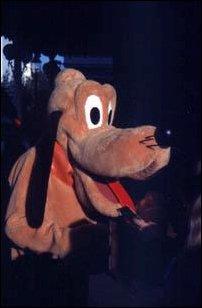Pluto im Disneyland Paris