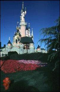 das Dornrösschenschloss im Disneyland Paris