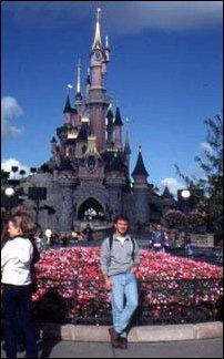 das Dornrößchenschloss im Disneyland, Paris
