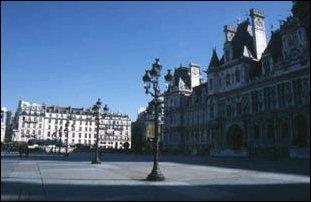 Plätze in Paris