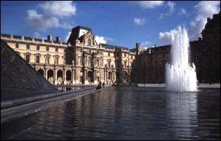 das Louvre in Paris, Frankreich