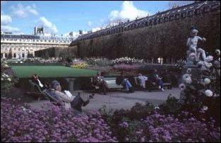 ein Platz in der Nähe des Jardin des Tuileries