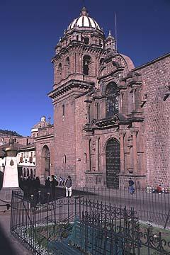 die Kirche La Merced in Cusco, Peru