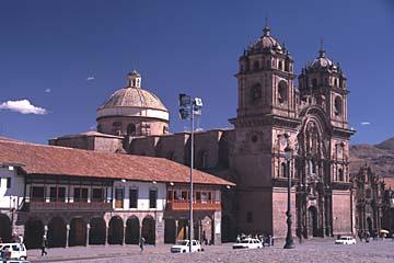 die Kirche La Compaña am Plaza de Armas in Cusco, Peru (copyright Achim Schneider)