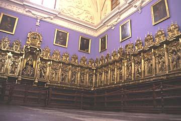 ein Saal im Kloster San Francisco, Lima, Peru
