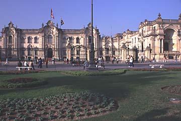 der Governor-Palast am Plaza de Armas, Lima, Peru