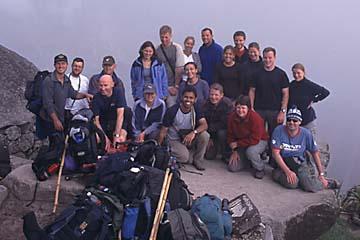 unsere Gruppe von Inka Trail SAS, die am 21.09.2003 gestartet ist, Peru
