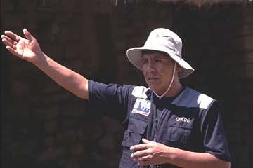 unser Guide Marcello beim Inka Trail und in Machu Picchu, Peru