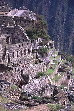 das Gefängnisviertel, Machu Picchu, Peru