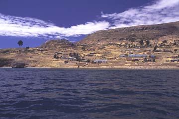 auf dem Weg zur Isla Taquile, Titikaka-See, Peru