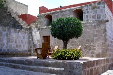 im Kloster Catalina, einer Stadt in der Stadt Arequipa
