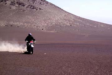 mit der Enduro durch die Atacama Wüste