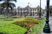 der Hauptplatz von Lima, der Hauptstadt von Peru