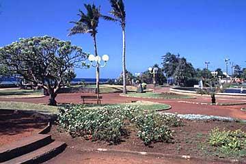 am Barachois in St. Denis, Réunion