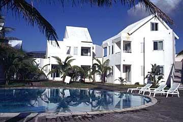 unser Bungalow im Hotel l'Armony bei St. Benoit, Réunion