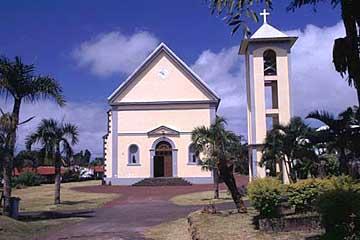 die Kirche von Ste. Rose, Réunion