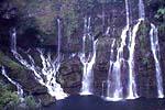 Die Cascade de Grad Revine in Langevin auf La Réunion
