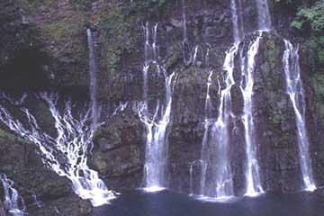 die Cascades de la Grand Ravine, Langevin-Tal, Réunion