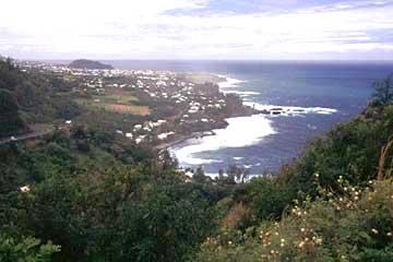 die Küste bei Petit-Ile, Réunion