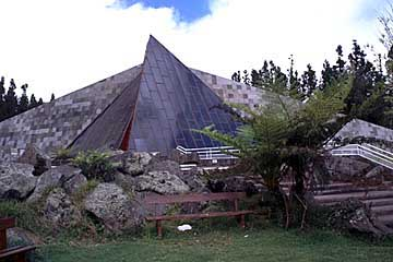 das Mainson du Vulkan in Bourg Mourat, Réunion