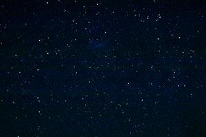 der Sternenhimmel um die große Magellansche Wolke im Süden, Réunion