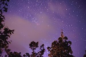 Strichspuren um den Himmelssüdpol, Réunion