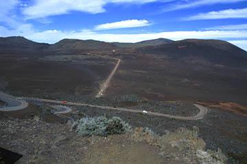 am Aussichtspunkt auf die Plaine des Sables, Reunion