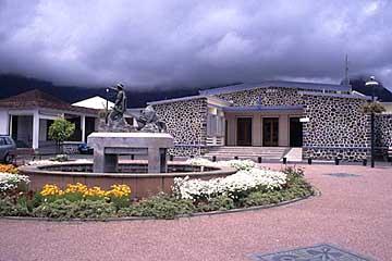 das Haus des Bürgermeisters in Cilaos, Réunion